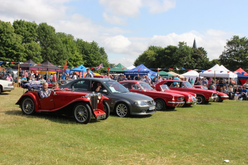 Billericay Summerfest Car Show
